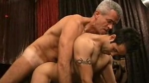 Sexy italian get fucked in the ass by daddy\\\'s huge hard cock