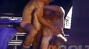 Very exciting sex session for 3 construction workers in heat
